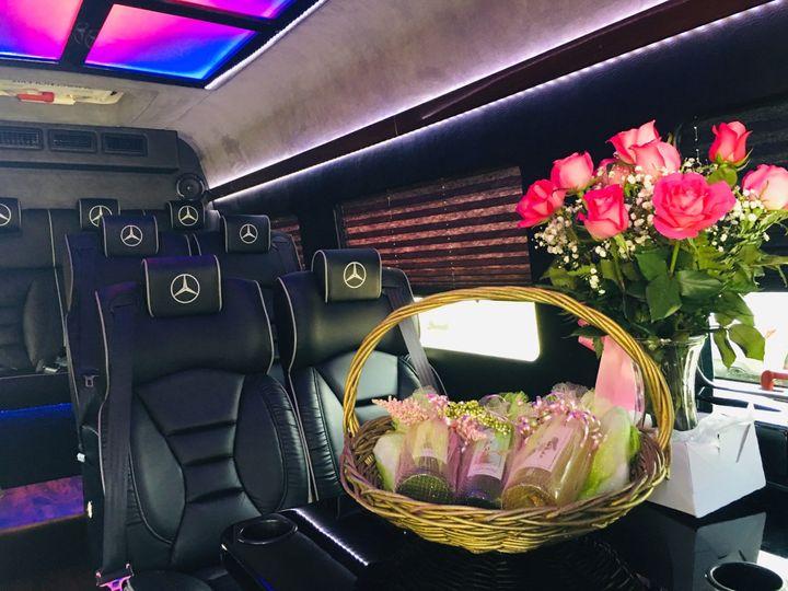 Wedding Limo Mercedes Sprinter