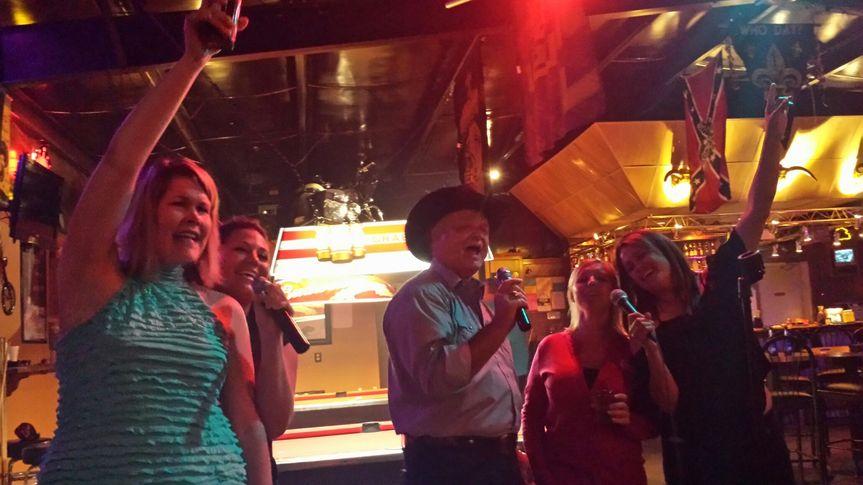 Karaoke available