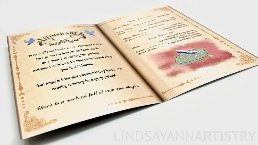 Cinderella itinerary