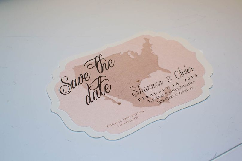 Destination save the dates