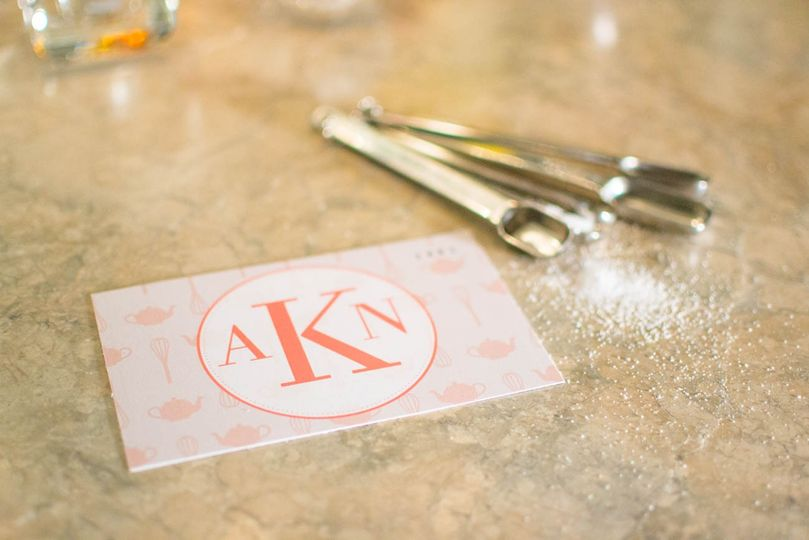 Recipe cards - wedding shower