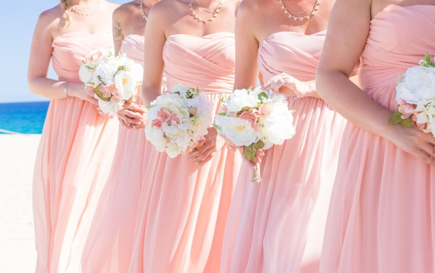 Beach Bridemaids
