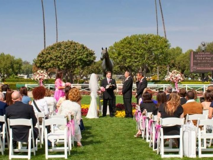 Tmx 1533744882 19aceb1454671132 1533744881 F8b7429d54095c64 1533744881251 31 Paddock Ceremony Arcadia, CA wedding venue