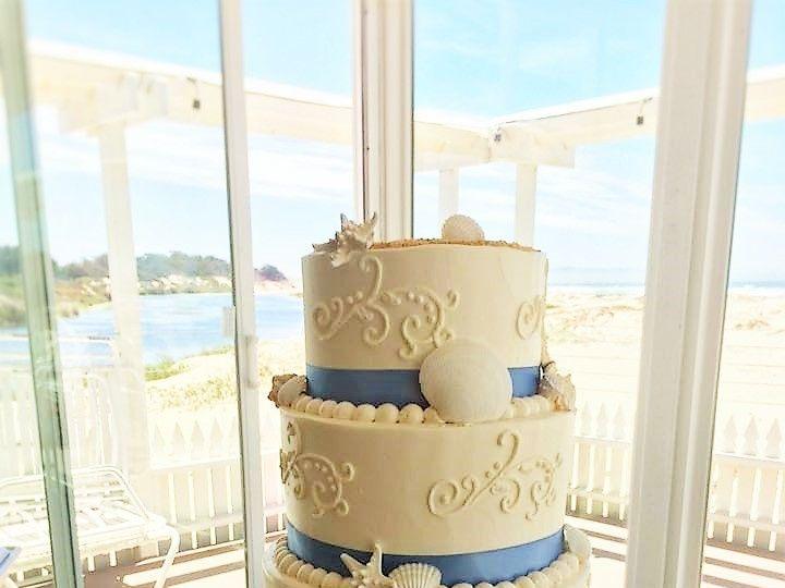 Tmx 1494262444594 6.18.16 Wedding2   Copy Grover Beach, California wedding cake