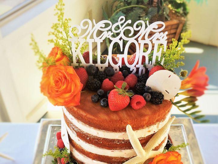 Tmx 1494262467116 07.09.16 Wedding.2jpg   Copy Grover Beach, California wedding cake