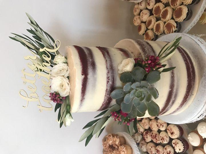 Tmx 1494262740348 10.29.16 Wedding Cake Grover Beach, California wedding cake