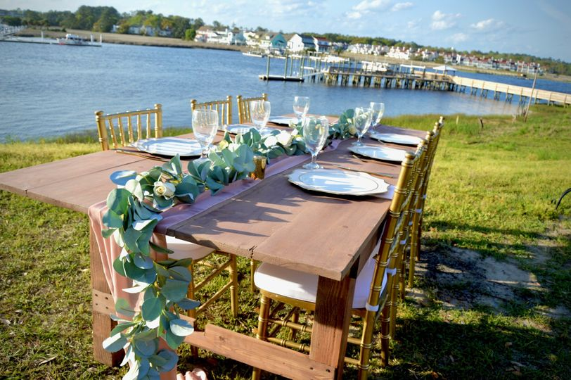 A rustic look for your wedding