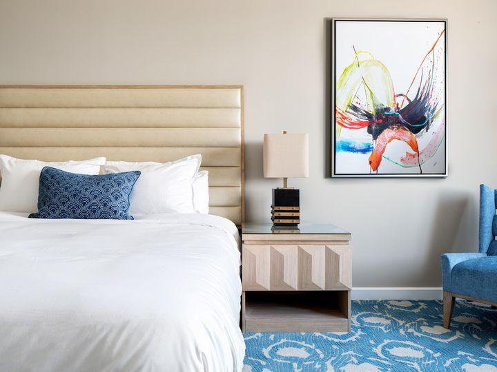 Tmx Karol Hotel Model Room Bedroom Vignette 51 1884919 1568743991 Clearwater, FL wedding venue