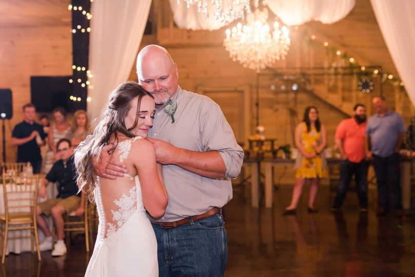 Father and daughter dance - Dee Ward Photography