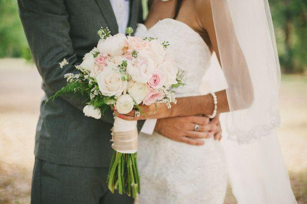 blush and mint rustic diy wedding beca companioni