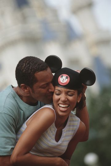 Couple in Walt Disney World Resort