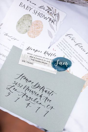 Invitation suite design