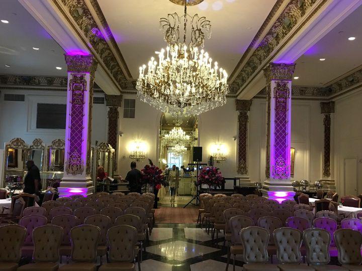 Tmx 1493607011495 Le Pavillion New Orleans Crystal Room Uplighting Lafayette, Louisiana wedding dj