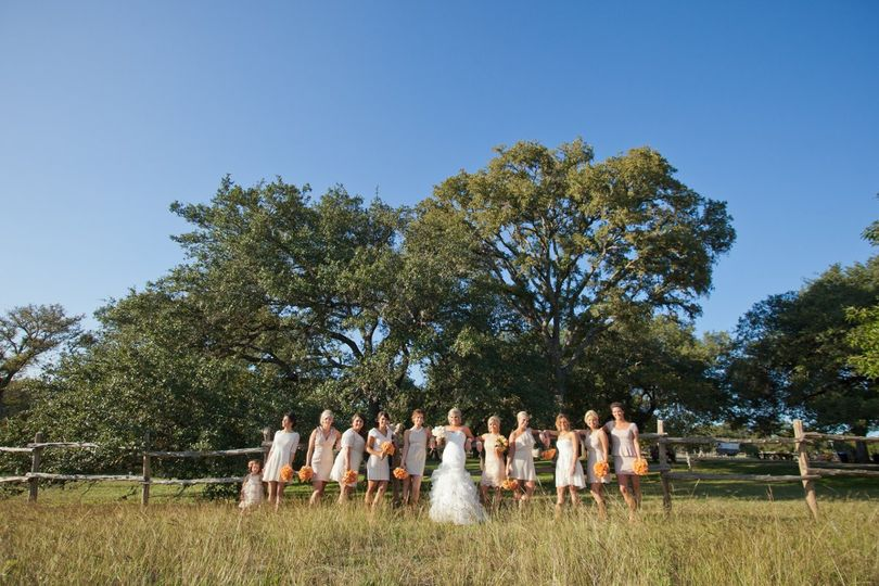 Wedding party - Jennifer Weems Photography