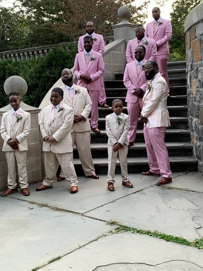 Spring custom suits