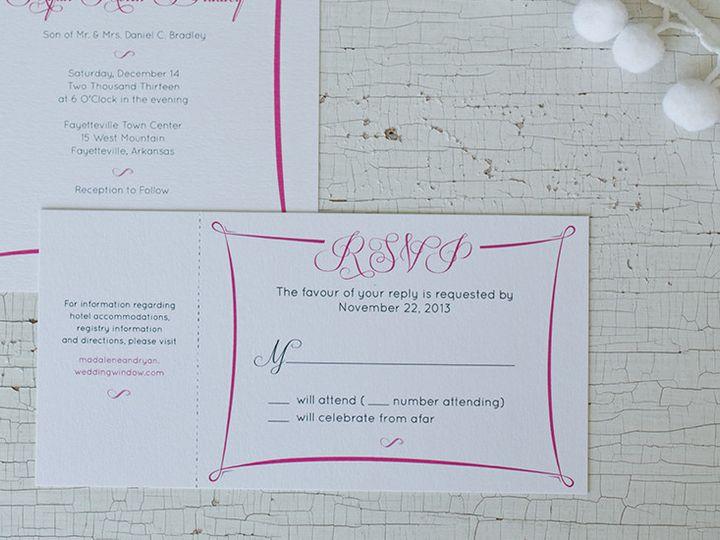 Tmx 1444758181981 Mr2 Tulsa wedding invitation