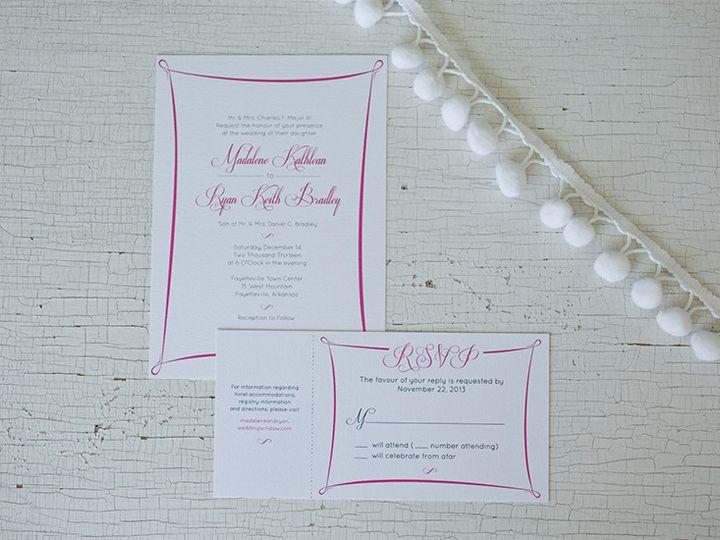 Tmx 1444758189655 Mr1 Tulsa wedding invitation