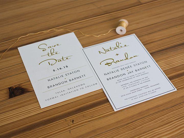 Tmx 1444758211167 Nb1 Tulsa wedding invitation