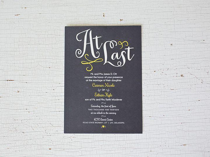 Tmx 1444758223254 Ce1 Tulsa wedding invitation