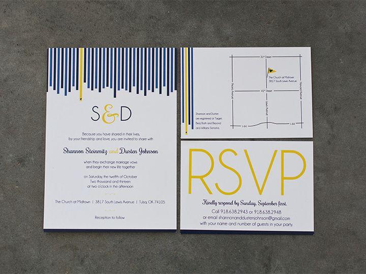 Tmx 1444758450810 Sd1 Tulsa wedding invitation