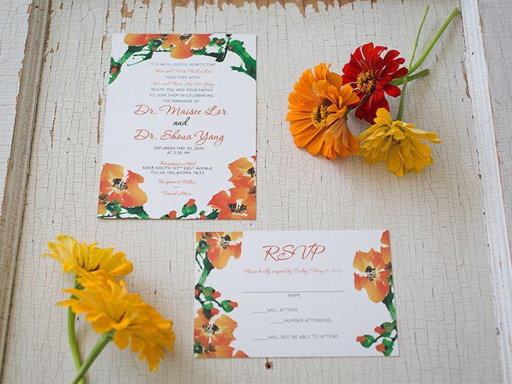 Tmx 1444758517340 Ms2 Tulsa wedding invitation