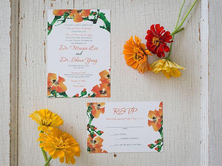Tmx 1444758525295 Ms1 Tulsa wedding invitation