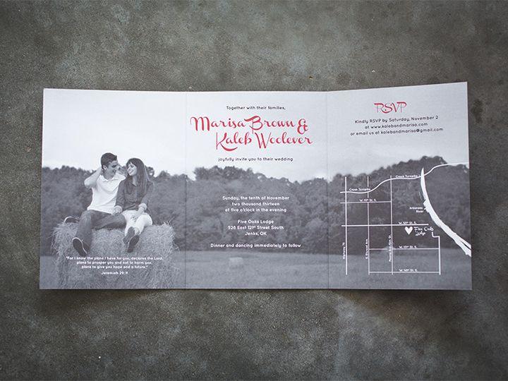 Tmx 1444758540615 Mbkd1 Tulsa wedding invitation