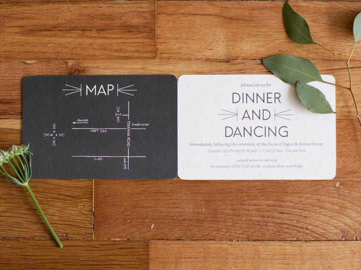 Tmx 1444759180158 Renza3 Tulsa wedding invitation
