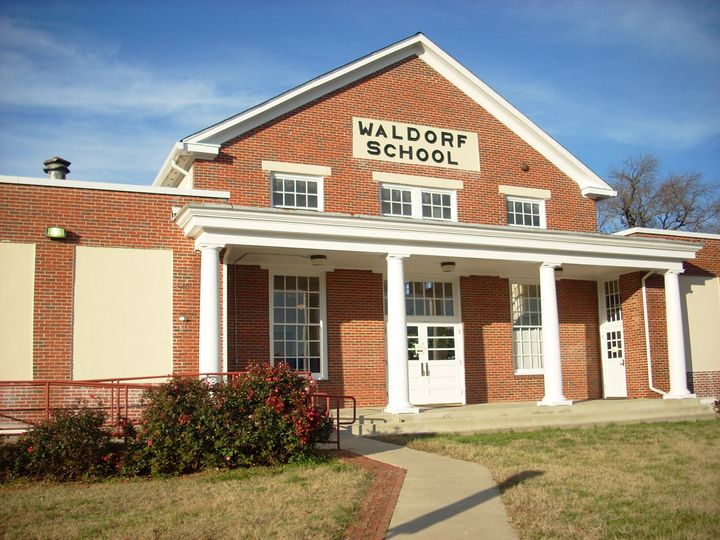 Historic Old Waldorf School Entry