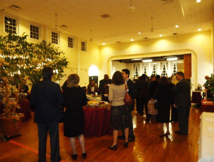 Historic Old Waldorf School Auditorium | Evening reception
