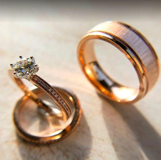 Wedding Bands & EngagementRing