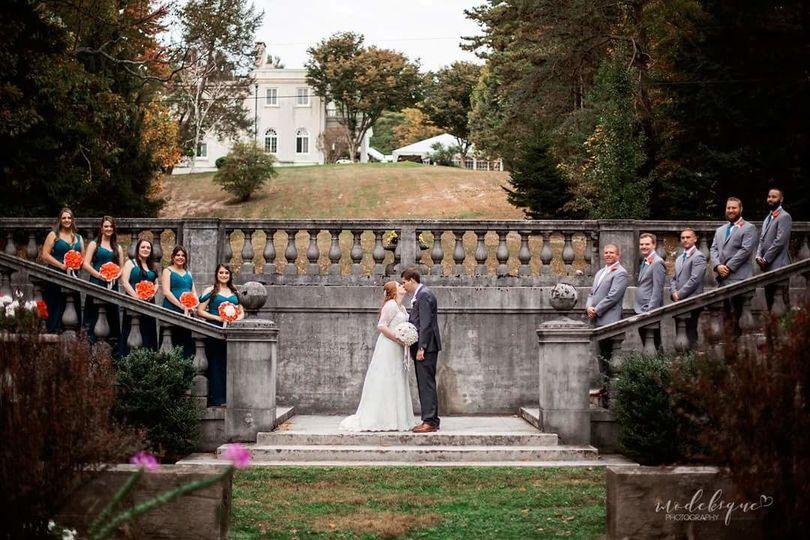 A regal wedding