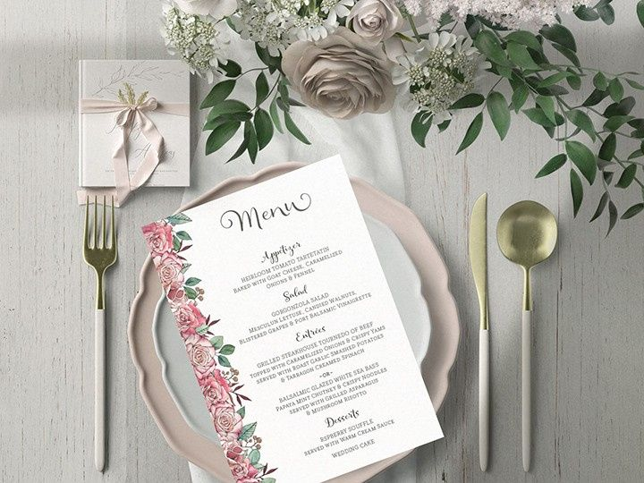 Tmx Isabelle Menu 51 1002029 159346090147609 Carlsbad wedding invitation