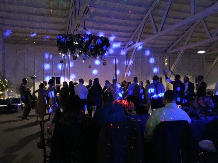 Led lights in blue