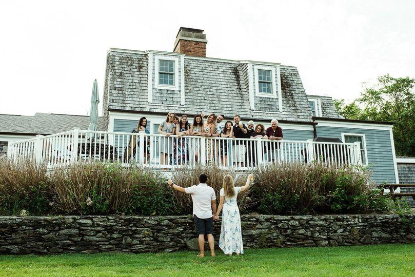 Rhode Island bridal party