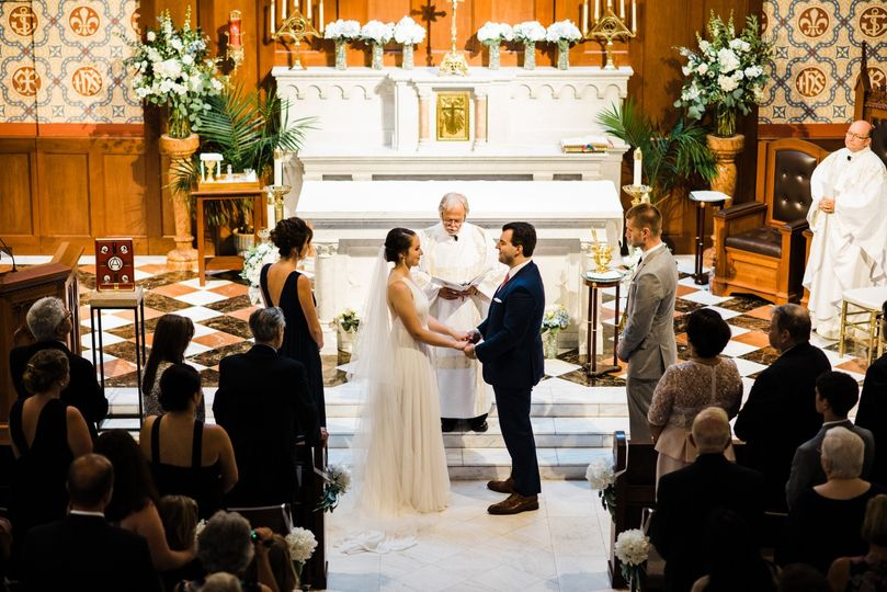 Boston church wedding