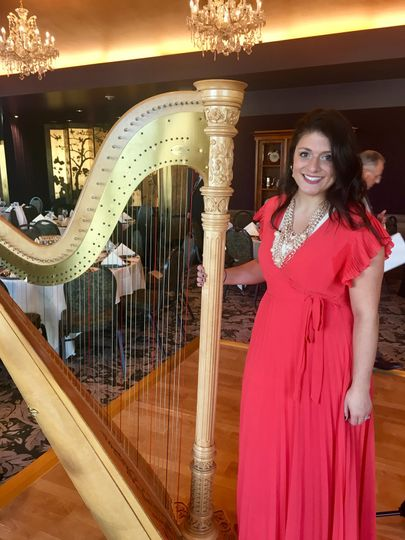 Event with solo harp