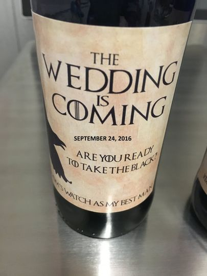The Wedding is coming