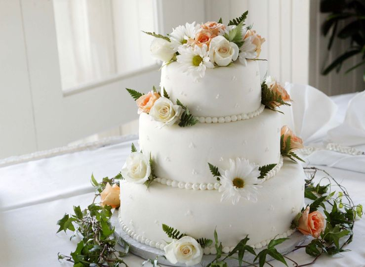 Fresh Flowers for Cake