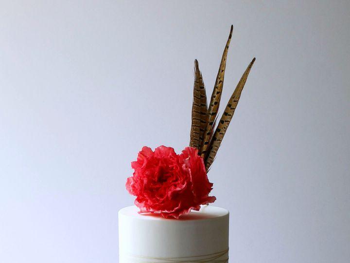 Tmx 1485541831674 Bohemian Cake  Saint Simons Island, GA wedding cake