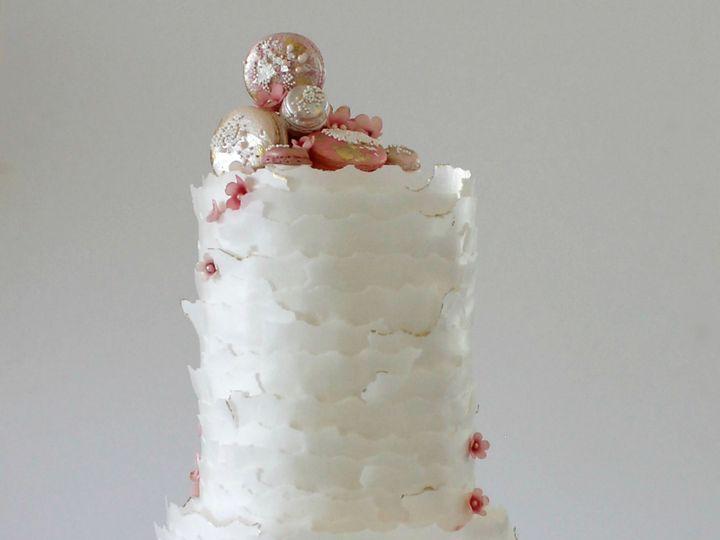 Tmx 1485541832106 Cherry Blossom Cake Saint Simons Island, GA wedding cake