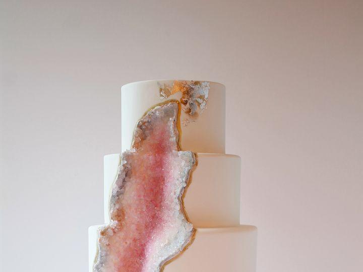 Tmx 1485541846219 Geode Cake Saint Simons Island, GA wedding cake