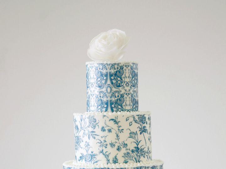 Tmx 1485541900895 Something Blue Cake 1 Saint Simons Island, GA wedding cake