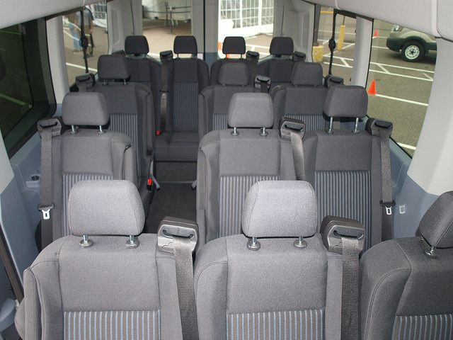 Seating for up to 14 passengers. Basic passenger seating. Great for guests.