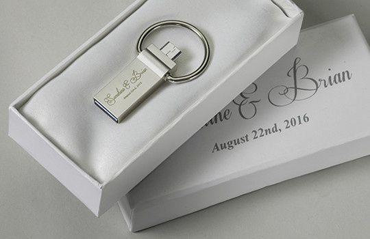Tmx 1458925392192 White Wedding Box Duo Loop Otg Usb San Francisco wedding favor