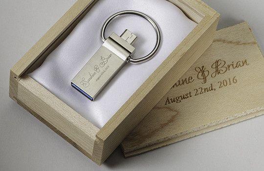 Tmx 1458925410104 Wood Wedding Box Duo Loop Otg Usb San Francisco wedding favor