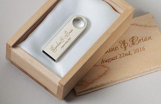 Tmx 1458925420666 Wood Wedding Box Mini Loop Inset Custom Usb San Francisco wedding favor