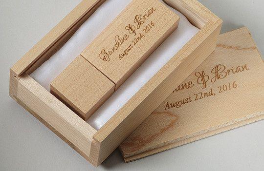 Tmx 1458925432391 Wood Wedding Box Wood Block Usb Flash Drive San Francisco wedding favor