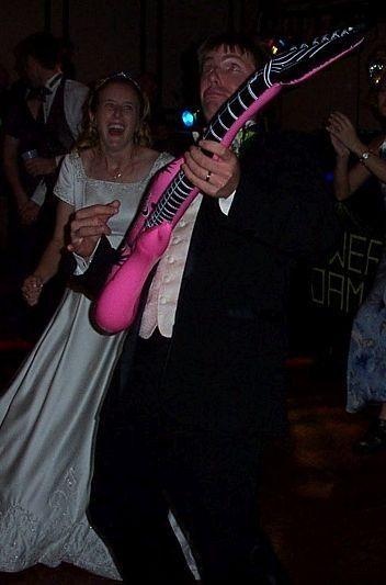 Fun on the dance floor in New Hampton, IA