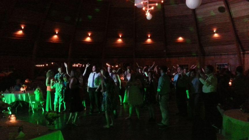 2016 Wedding reception at Celebration Barn, Solon, IA